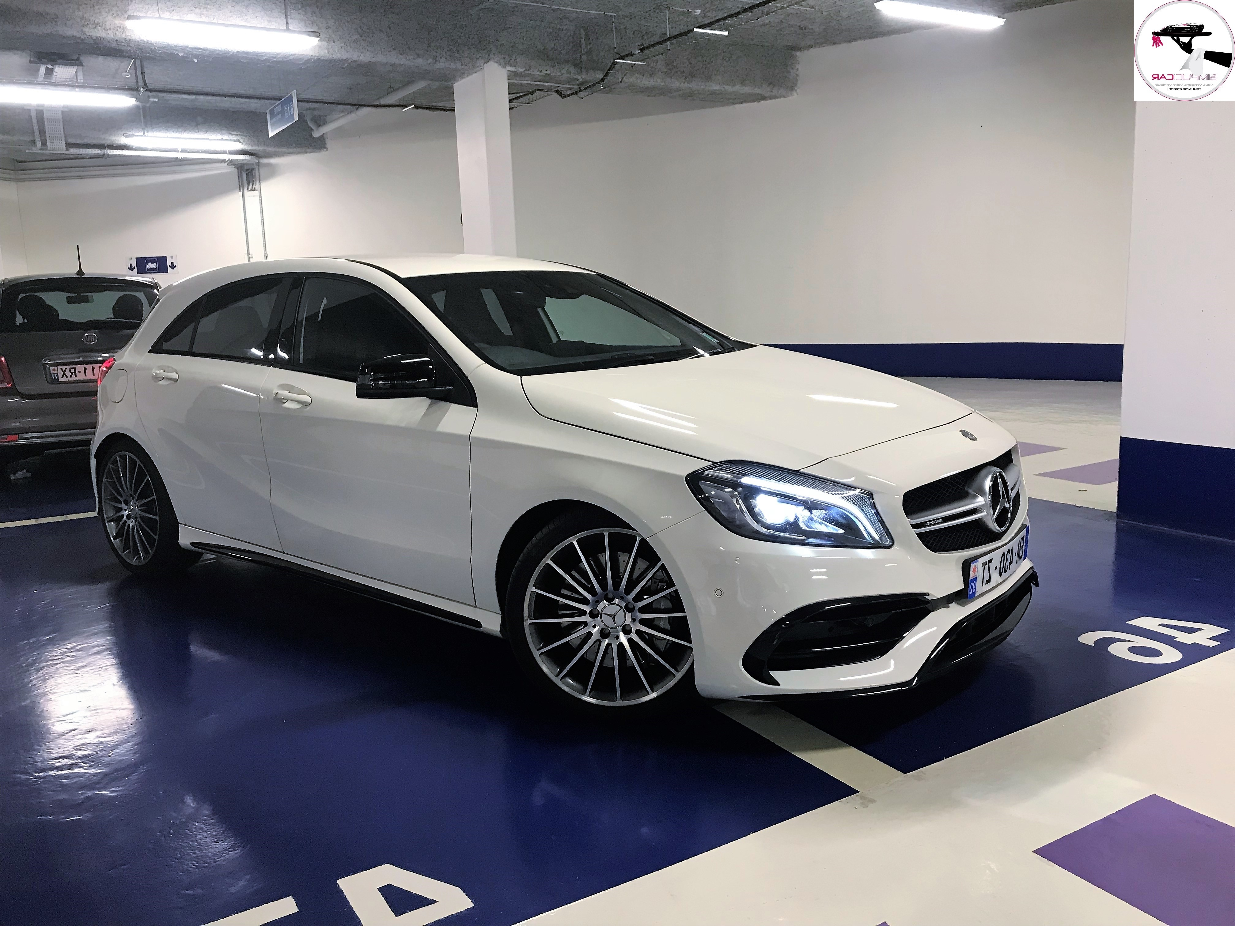 voiture mercedes classe a 45 amg 4 matic speedshift dct a occasion essence 2015 32900 km. Black Bedroom Furniture Sets. Home Design Ideas