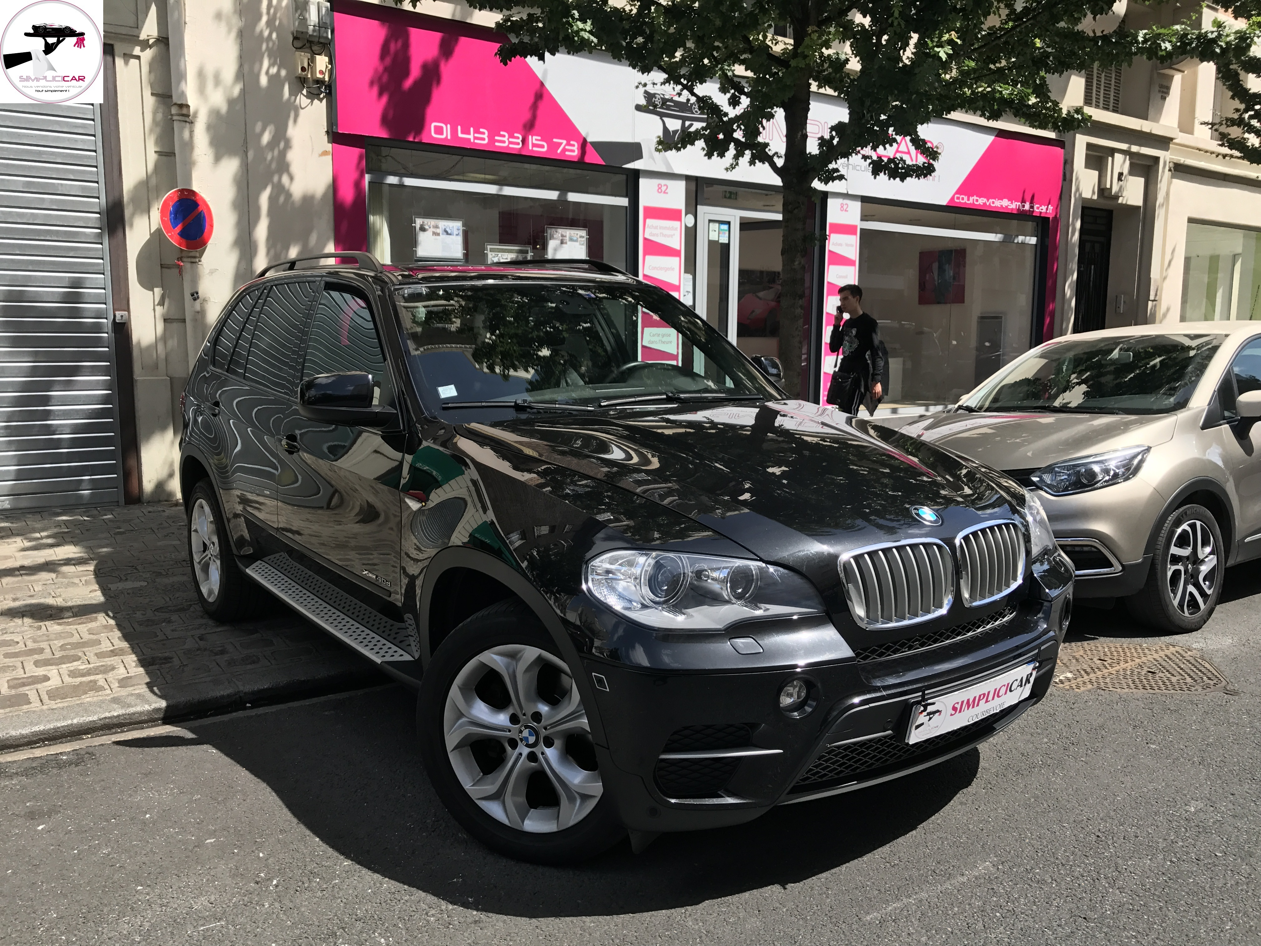 voiture bmw x5 xdrive 40d 306ch n1 sav exclusive a occasion diesel 2011 79000 km 37990. Black Bedroom Furniture Sets. Home Design Ideas