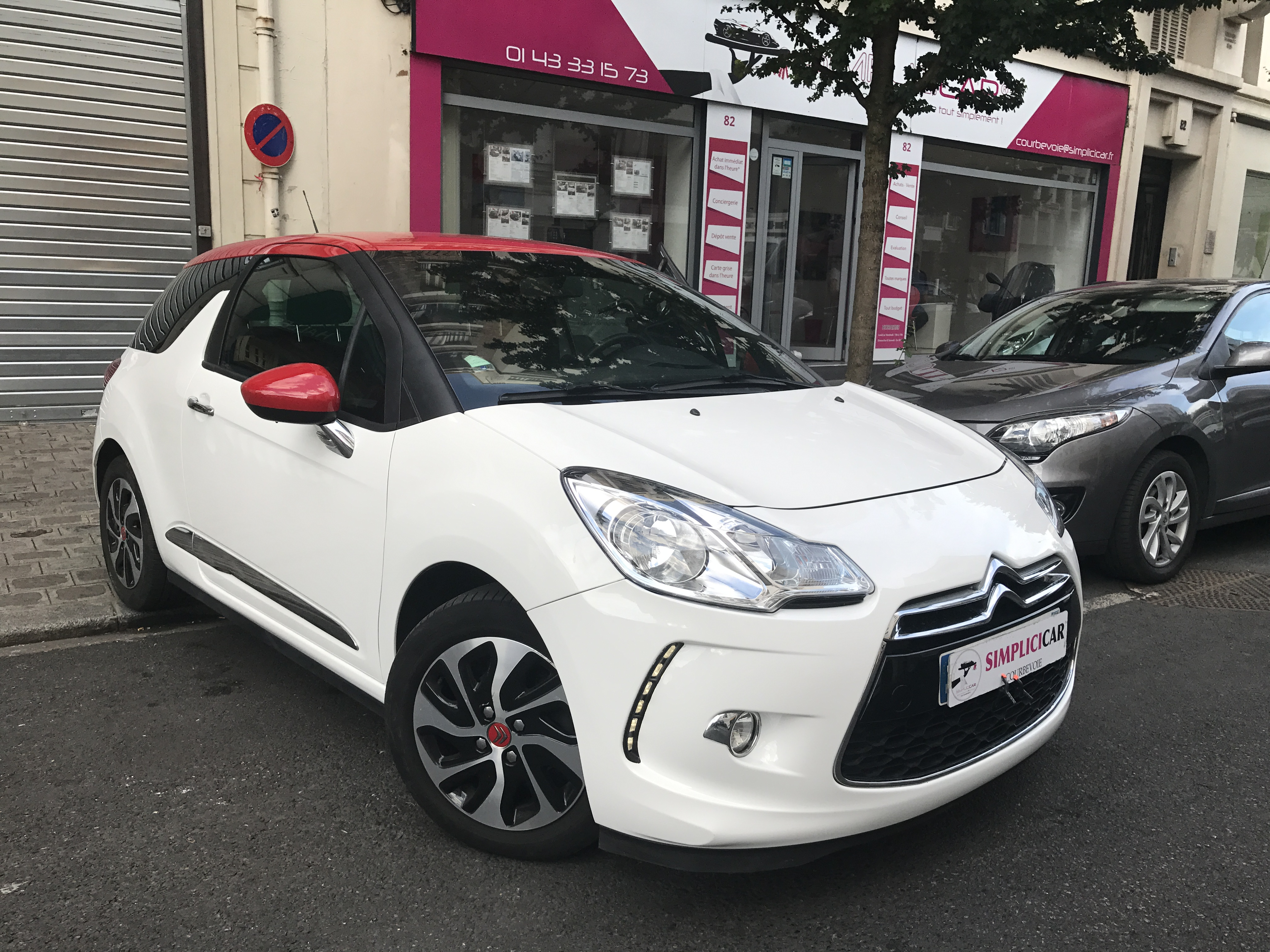 voiture citro n ds3 e hdi 90 so chic occasion diesel 2014 35000 km 12490 courbevoie. Black Bedroom Furniture Sets. Home Design Ideas